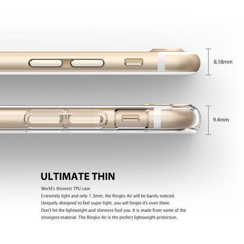 nueva carcasa original ringke air iphone 7 plus rosado