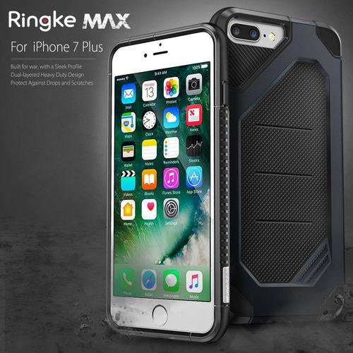 nueva carcasa original ringke max iphone 7 plus negro