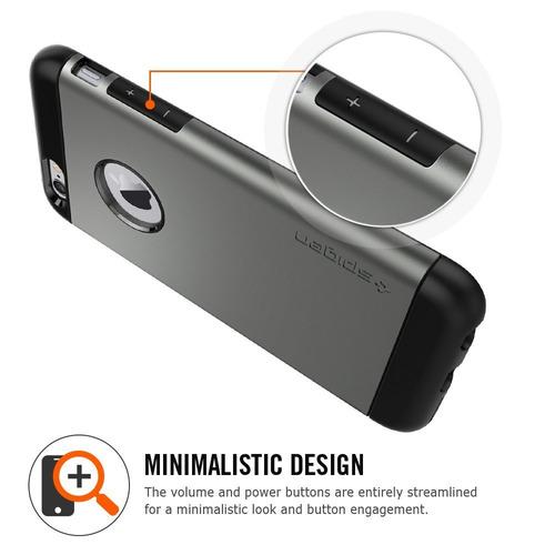 nueva carcasa original spigen slim armor iphone 6 6s blanco