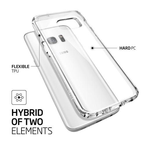 nueva carcasa original spigen ultra hybrid samsung s7