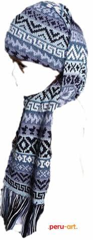 nueva chalina gorro en alpaca-  artesania regalos