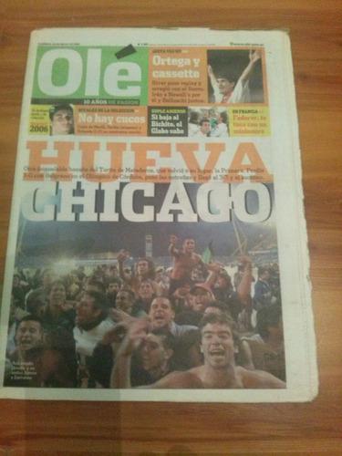 nueva chicago - diarios históricos - lote nº 3