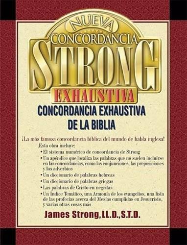 nueva concordancia strong libro james strong