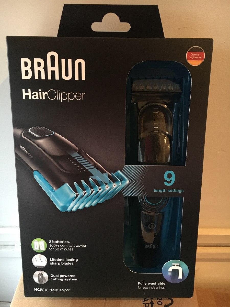 nueva corta pelo y barba braun hc5010 hairclipper lavable. Cargando zoom. 3ce30451568c