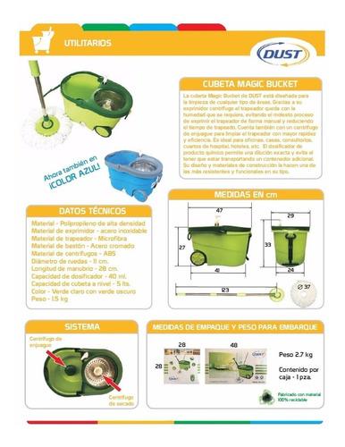 nueva cubeta magic bucket verde