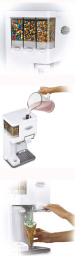 nueva cuisinart ice-45 máquina para hacer y servir helados