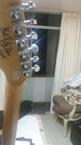 nueva dean michael batio mab 1 autografiada con case