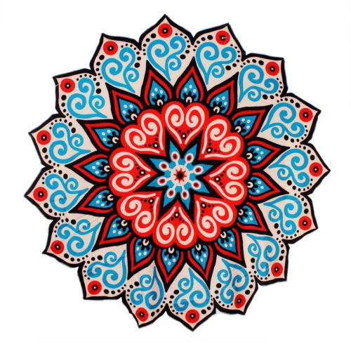 Nueva Decoracion Hippie Tapices Indios Mandala Bohemio Tapiz - Mandalas-indios