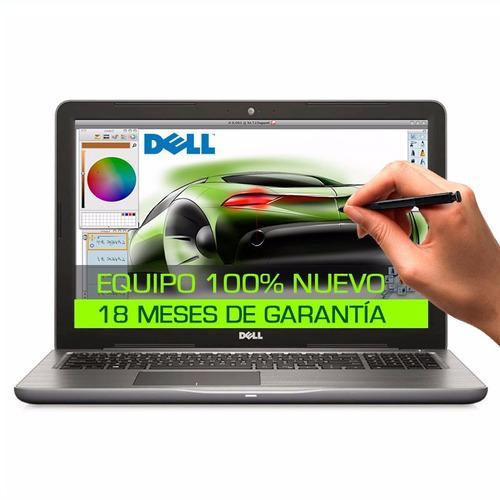 nueva dell =q core i7 turbo+12gb+1tb+ touch+ tarjeta video