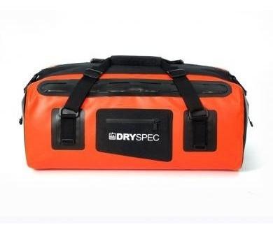 nueva dryspec maleta trasera impermeable naranja 38 lts