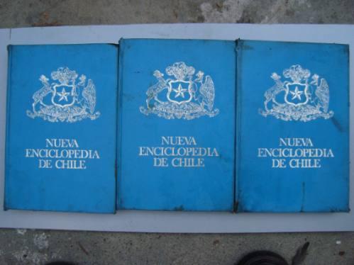 nueva enciclopedia de chile -carlos fortin gajardo