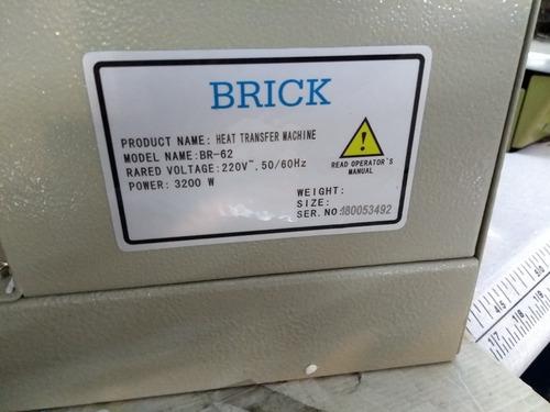 nueva estampadora y sublimadora brick 62 x 38 cm