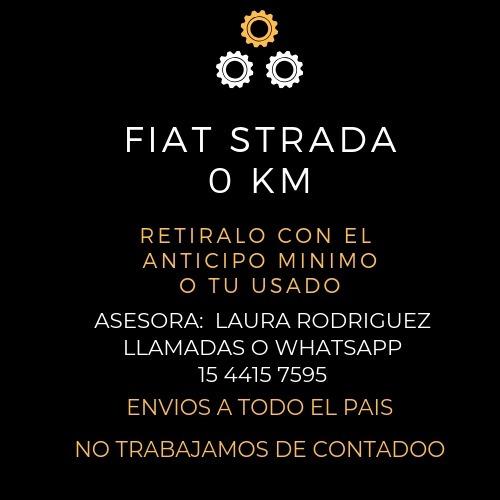nueva fiat strada 0km 2020-anticipo de $78.000 y cuotas! - l