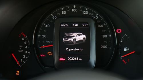 nueva fiat strada 2020 freedom doble cabina 1.4 | zucchino