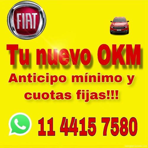 nueva fiat toro 4x4 4x2  0km 2019 150.000 + cuotas solo dni