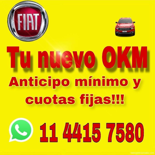 nueva fiat toro 4x4 4x2  0km 2020 150.000 + cuotas solo dni