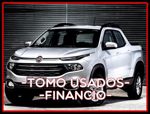nueva fiat toro 4x4 volcano $120.000+ cuotas solo c/dni! asr