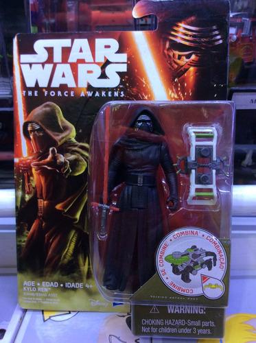 nueva figura de kylo ren  de hasbro  star wars