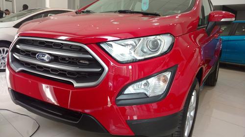 nueva ford ecosport se 1.5 manual 4x2 5 puertas 0km 2018