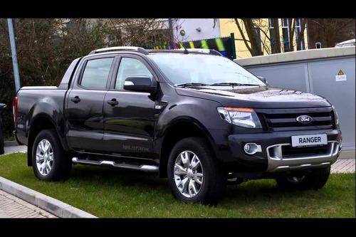 nueva ford ranger planes oficiales