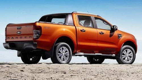 nueva ford ranger xlt nafta gnc. por plan a tasa 0%. gh