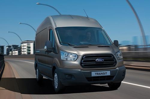 nueva ford transit furgon med con a/c 2017 tasa 0%