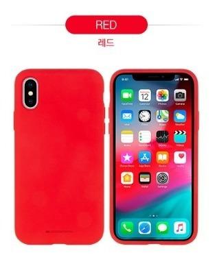 nueva funda iphone xr mercury silicone mercury goospery