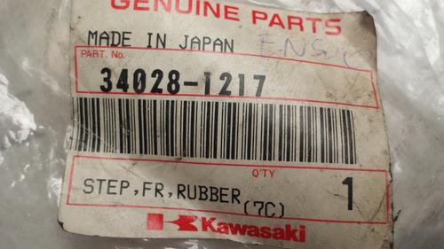 nueva goma de pedalin original japon kawasaki vulcan en500