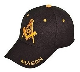 nueva gorra, gorro, jockey jokey - original - masónico masón