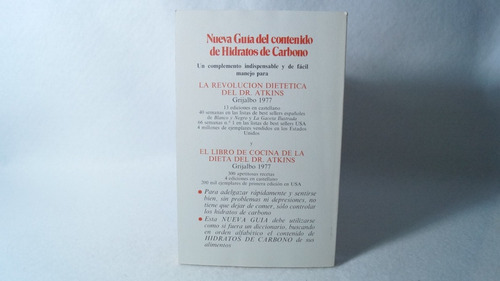 nueva guía del contenido de hidratos de carbono