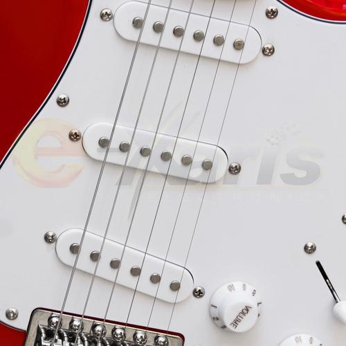 nueva guitarra electrica molde stratocaster 2 colores xaris.