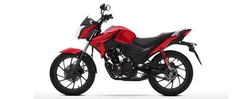 nueva honda cb-125f / 2018 / roja  performance bikes