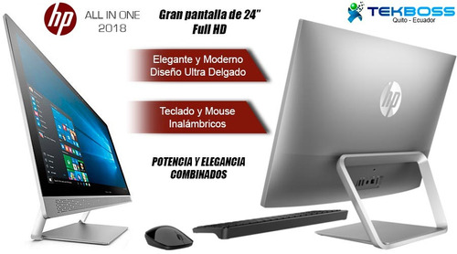 nueva hp all in one core i 7ma gen.+12gb+1tb+ touch fhd 24''