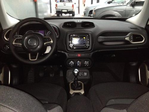 nueva jeep renegade sport 1.8l 4x2 automática 0km.