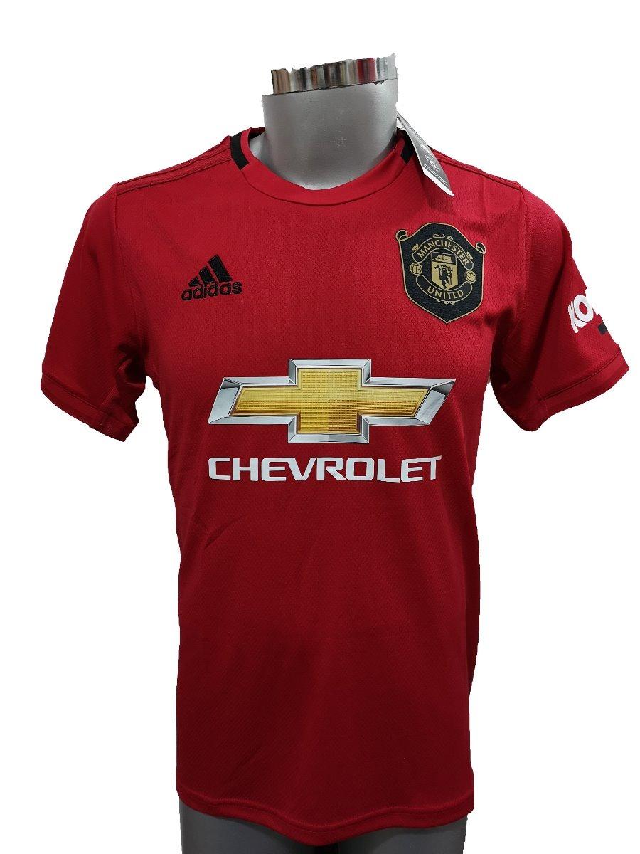 new style 246b7 57b8e Nueva Jersey Playera Manchester United Local 2019-2020 Pogba