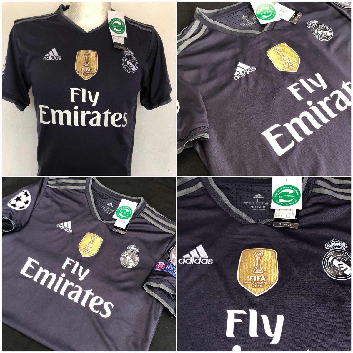 Nueva Jersey Playera Real Madrid Visita 2019 Grande -   399.00 en ... 0873908a8a505