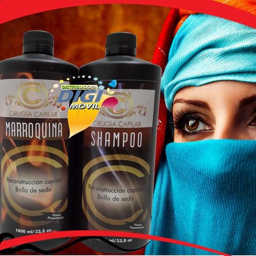 nueva keratina cirugia capilar marroquina brillo de seda 1lt