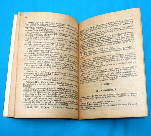 nueva ley universitaria n° 23733 educación 1984 lima perú