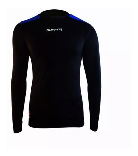 nueva linea jersey para portero de manga larga con protecciones modelo buffon barcelona - envio gratis - mundo arquero