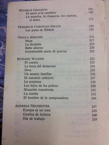 nueva literatura alemana. antología de autores.