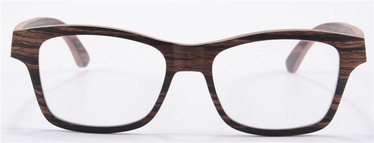 24cb863bce Nueva Madera Marco Óptico Gafas Hombres... (glasses) - $ 25.990 en ...