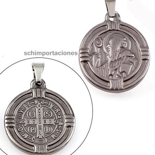 nueva medalla san benito ++ consagrada ++ acero