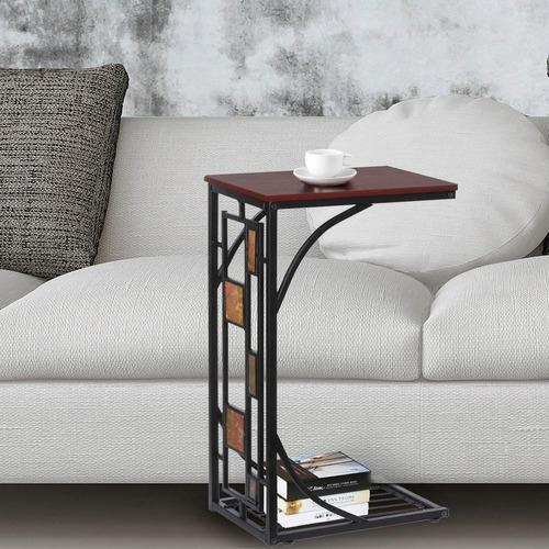 nueva mesa para cafe-snack con rack para revistas