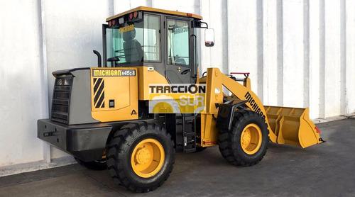 nueva michigan r45c-ii (1 metro cubico) 1500 kg, convertidor