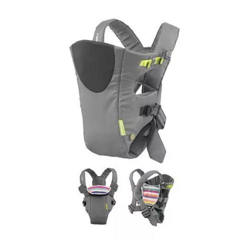 nueva mochila porta bebe infantino breath grey 2 en 1 gtia !