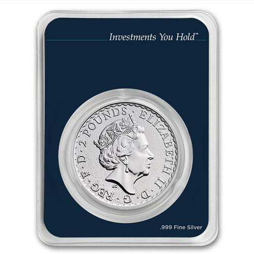 nueva !! moneda de plata britanica 2017 !!