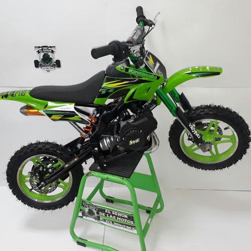 nueva moto a gasolina para niño 50cc