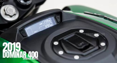 nueva moto bajaj dominar 400 0km urquiza motos