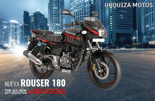 nueva moto bajaj rouser 180 laser 0km consulte rebaja