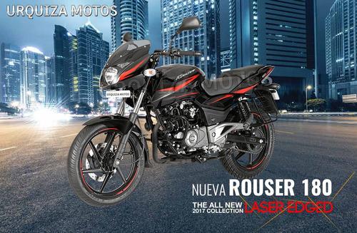 nueva moto bajaj rouser 180 laser edged 0km urquiza motos